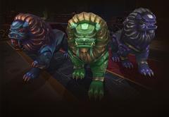 Каменные стражи подземелья Могу'шан в рейдах WOW: Mists of Pandaria